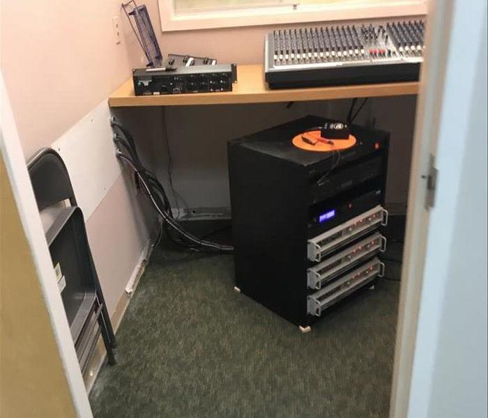 Music Mixing Room Saved With Mitigation After