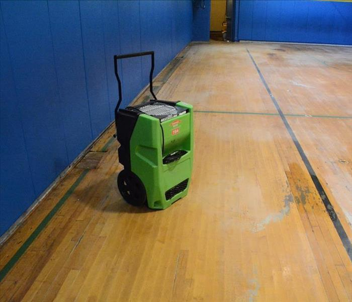 Cleveland Gym Floor Suffers Water Damage After