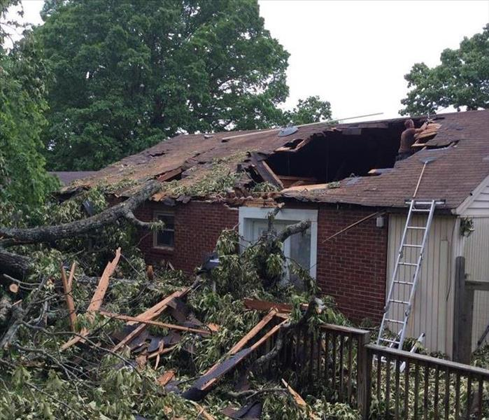 Cleveland Home Destroyed in Storm