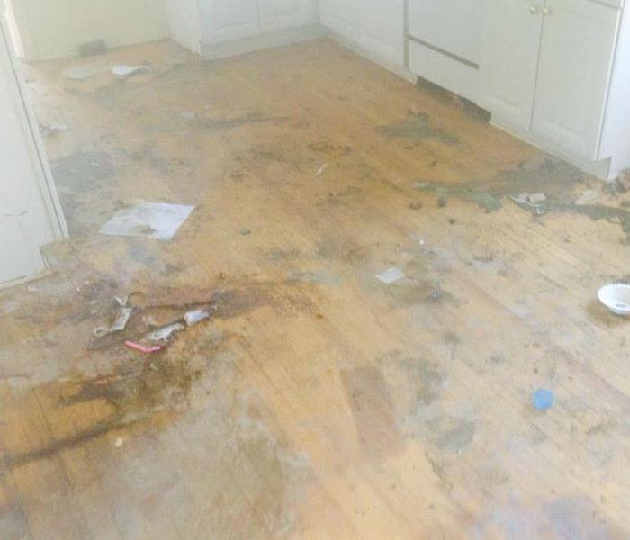 Water Damage Removing Moisture From a Home With Water Damage