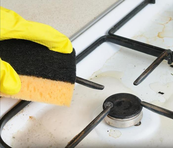 Fire Damage How To Clean Your Gas Cooktop Like a Pro